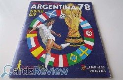 Panini World Cup 1978 Argentina 78 cover page