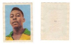 One of a few Pele Rookies from 1958, from Aquarela collection #10