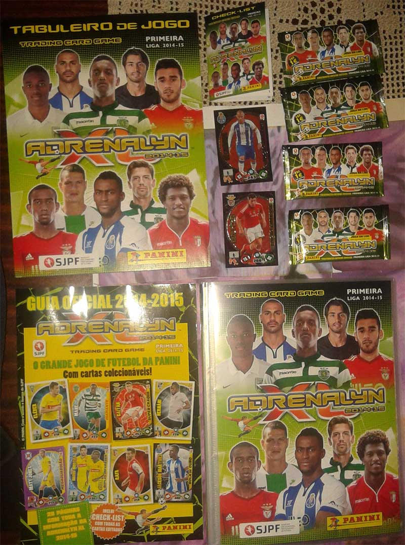 Panini adrenalyn xl primeira liga 2014 15 cardzreview for Table 52 cards 2014