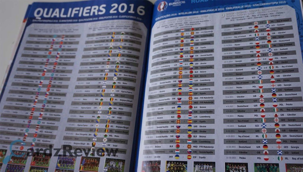 Panini Album Road to Euro 2016 From www.cardzreview.com