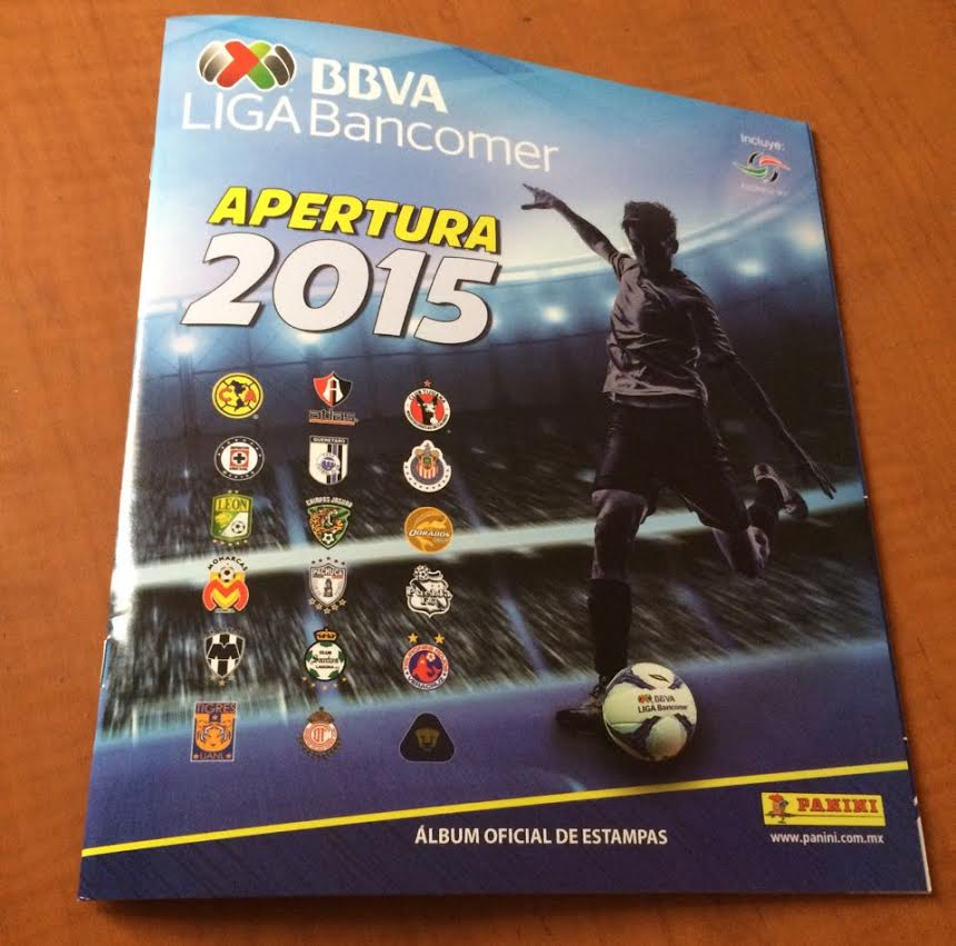 Panini Liga Mexicana Apertura 2015 Sticker Album