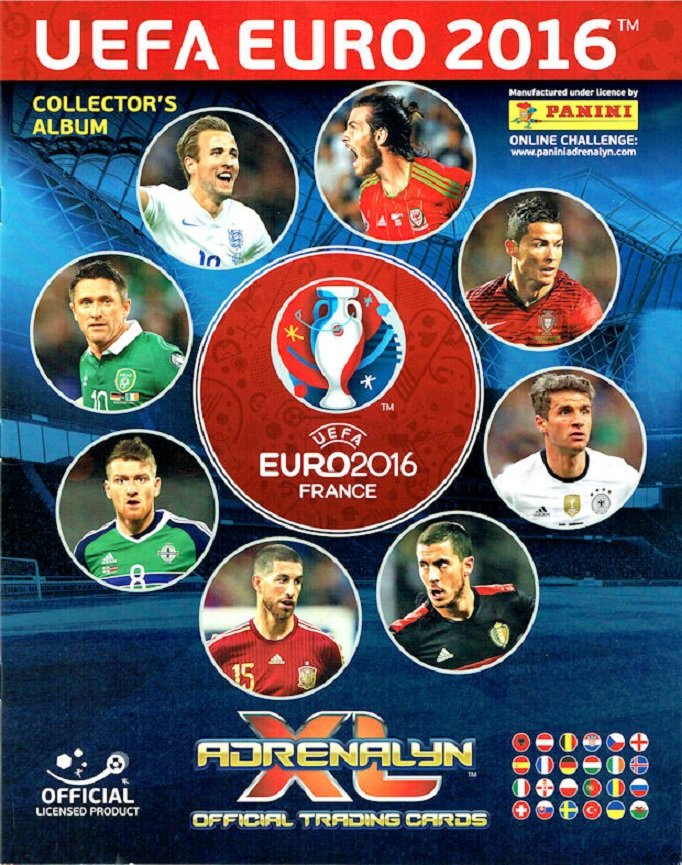 Panini UEFA EURO 2016 France – Adrenalyn XL