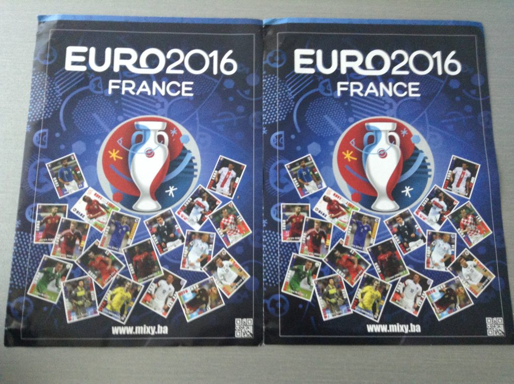 Euro 2016 Plivac card collection Bosnia