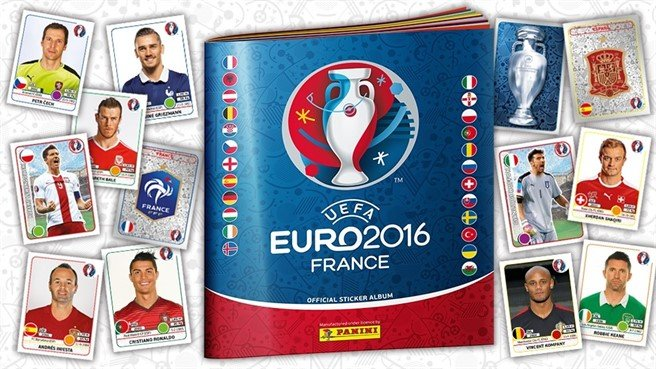 PANINI EURO 2016 Official Sticker Album