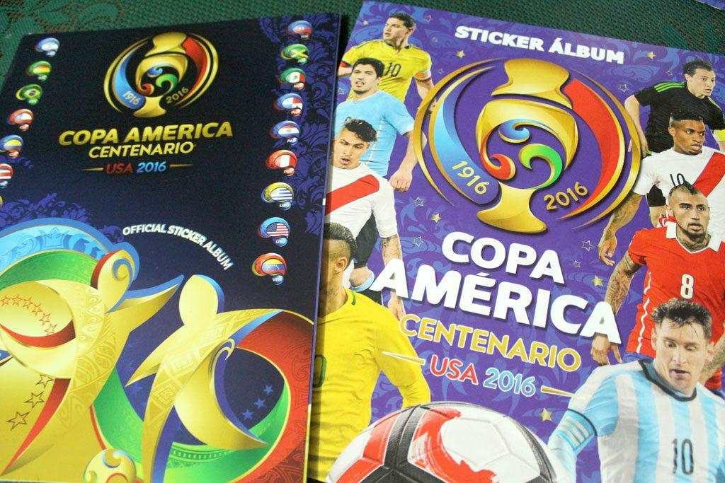 Copa América Centenario USA 2016: Panini and Capri (Navarrete) sticker albums
