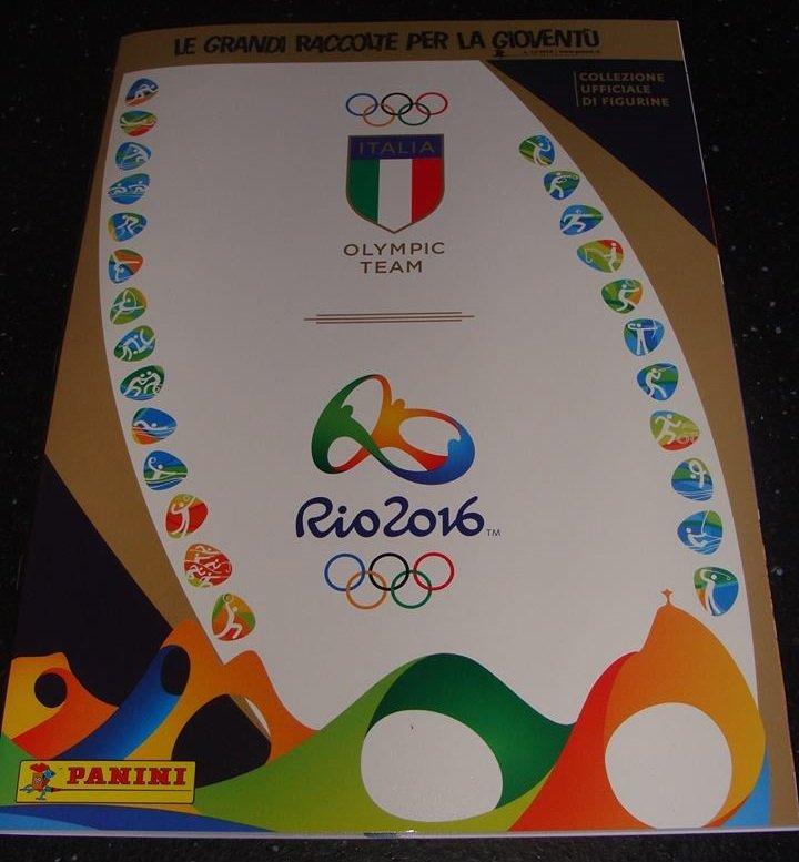 PANINI RIO 2016 – ITALIA OLYMPIC TEAM OFFICIAL STICKERS ALBUM