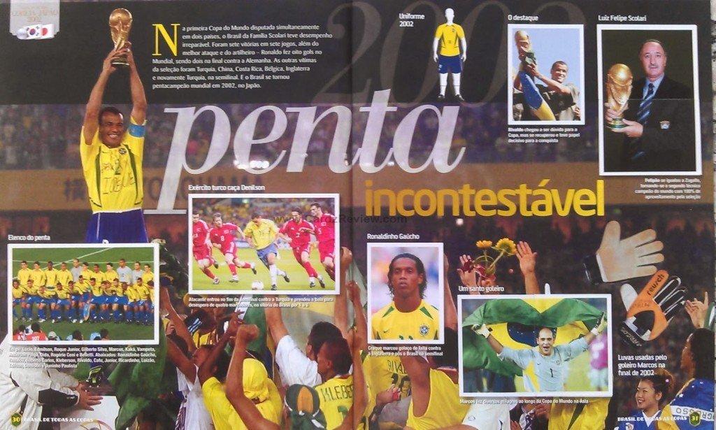 Brasil de Todas as Copas Panini 1919-2014  7f78f5c2fb2f6