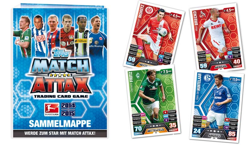 Match Attax Weihnachtskalender.Match Attax Bundesliga 2014 15 Topps Released In Germany