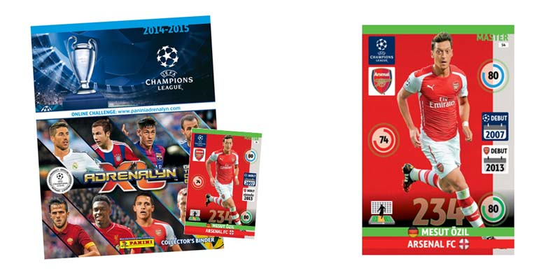 Panini adrenalyn xl champions league 2014 2015 cards for Best cards for 2015