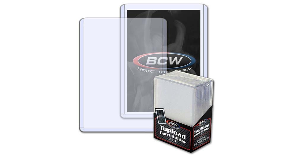 Guide to BCW and Ultra Pro Trading Card Toploaders | CardzReview