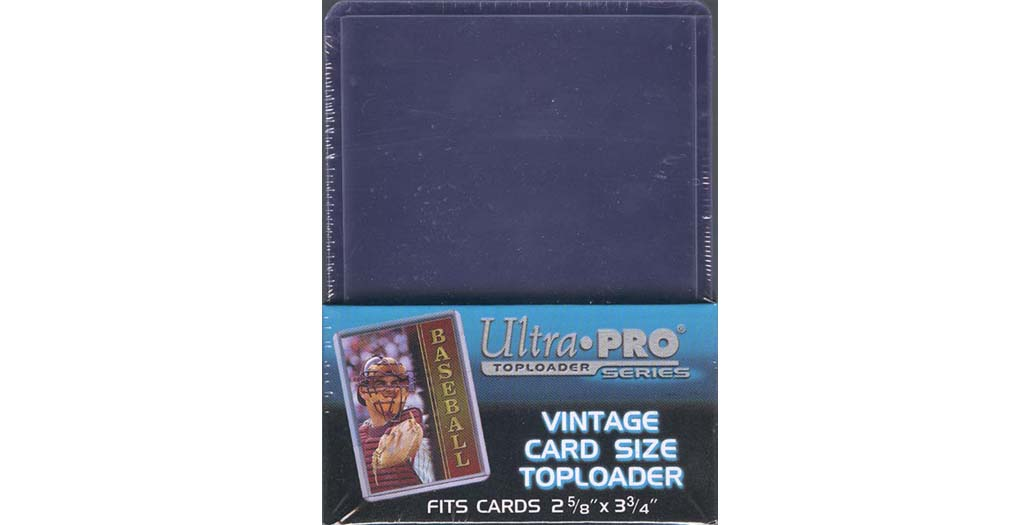 Ultra pro thick toploader super clear fits up to pt