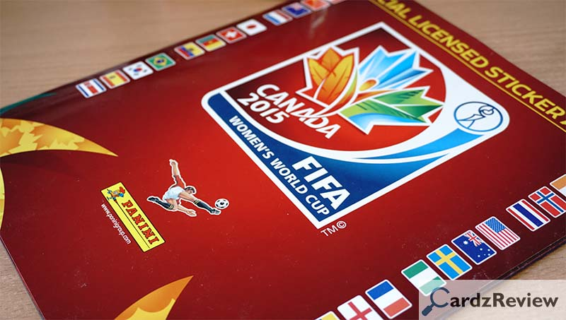 design of panini womens world cup canada 2015 album