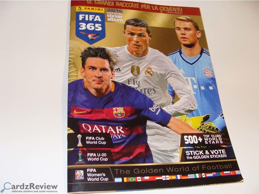Panini Fifa 365 2016 Official Sticker Album Cardzreview
