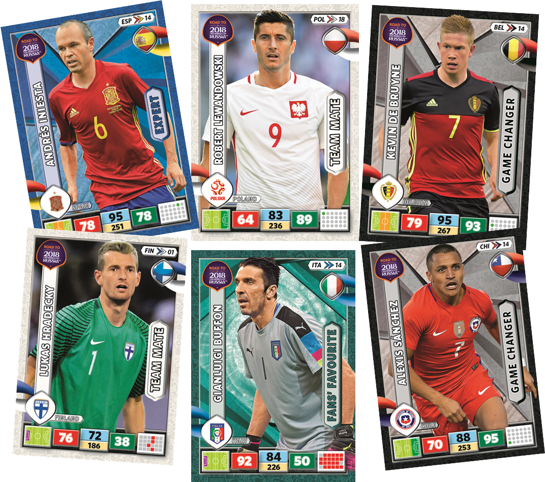 a3613faf9 Road to 2018 FIFA World Cup Russia Adrenalyn XL | CardzReview