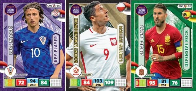 PANINI Road to 2018 FIFA World Cup Russia Adrenalyn XL LIMITED EDITION PAYET