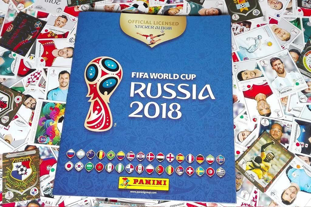 31 STICKERS FIFA World Cup 2018 Sticker Starter Pack INCLUDES ALBUM