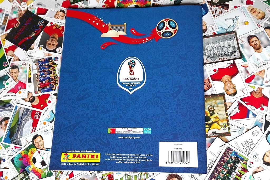 Panini WM 2018 World Cup Russia Poster der Spielorte Sticker 26 Volgogarad