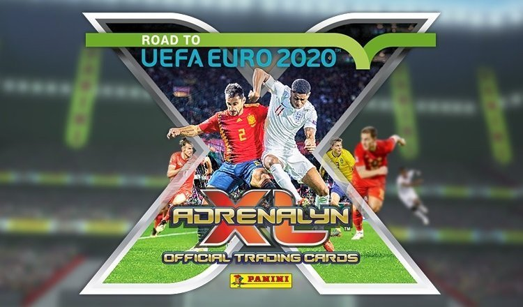ADRENALYN XL ROAD TO EURO 2020 ALBUM FULL SET TREADING CARDS